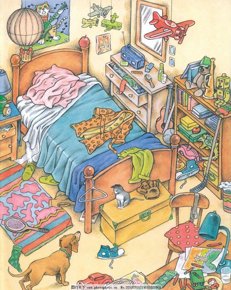 卡通画 儿童画 儿童插图
