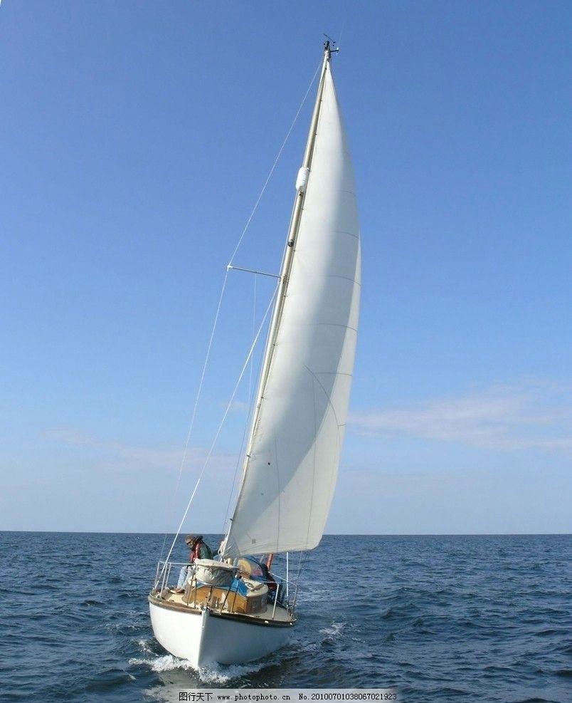 电脑壁纸超清帆船手绘