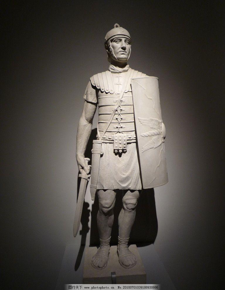 罗马 希腊 雕塑 艺术品 人物 武士 展示 神 传说 古代 文物