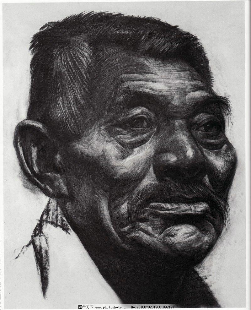 素描 中国美术学院 教师作品 头像作品 人物 人头像 高考素描