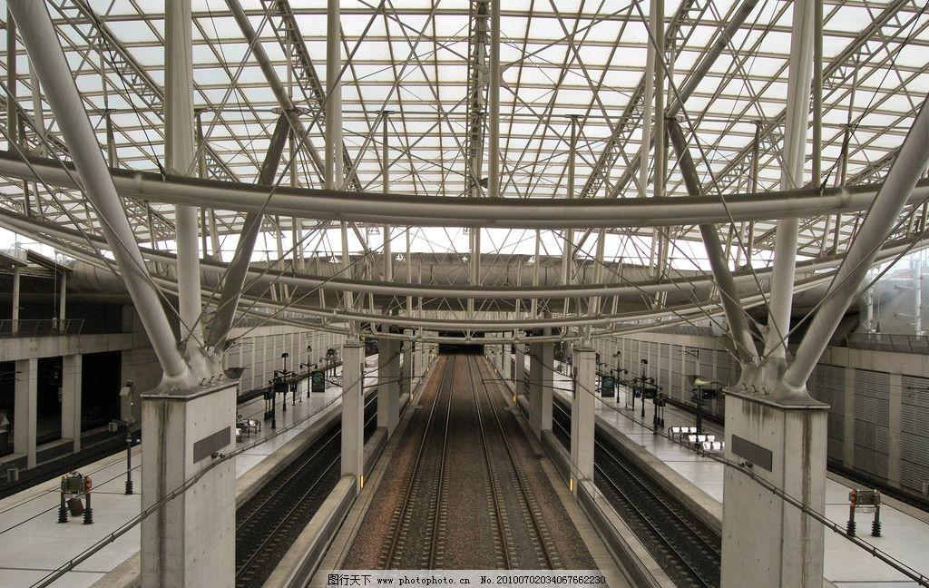 环境设计 园林设计  法国 南特 南特火车站 火车站 钢结构顶棚 透明