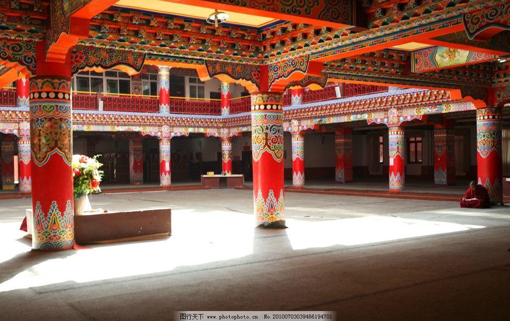 西藏寺庙 佛教文化 建筑 佛教花纹 建筑摄影 建筑园林 摄影 72dpi jpg