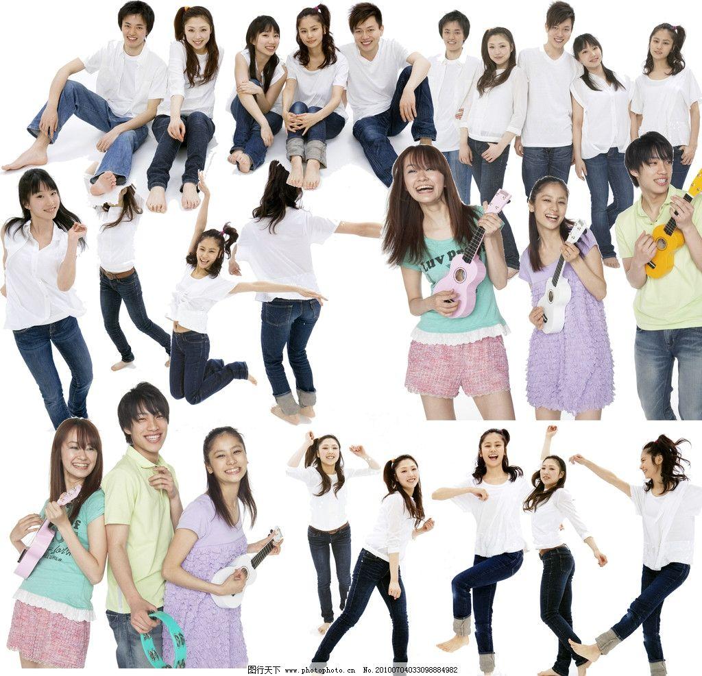 舞动素材青春,学生美女人物青年美女美女图片喉咙青春顶钢筋图片