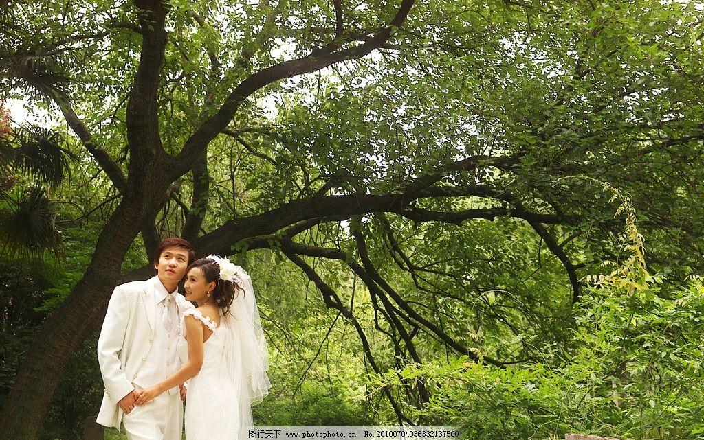 外景婚纱图片