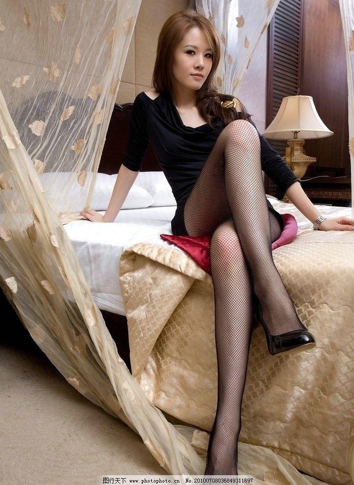 长腿美女 女性 东方 美女 黑发 长发 气质 长腿 美腿 修长 性感 室内