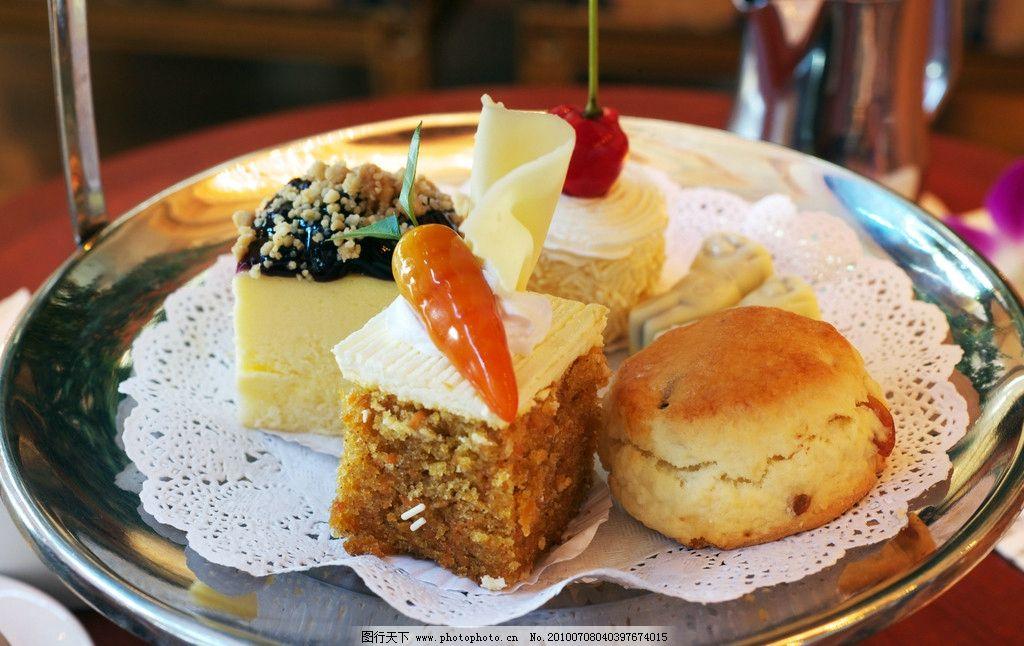 蛋糕块图片