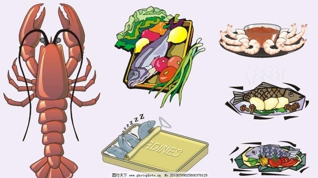 矢量食物 生活百科 餐饮美食 矢量cdr 矢量 cdr