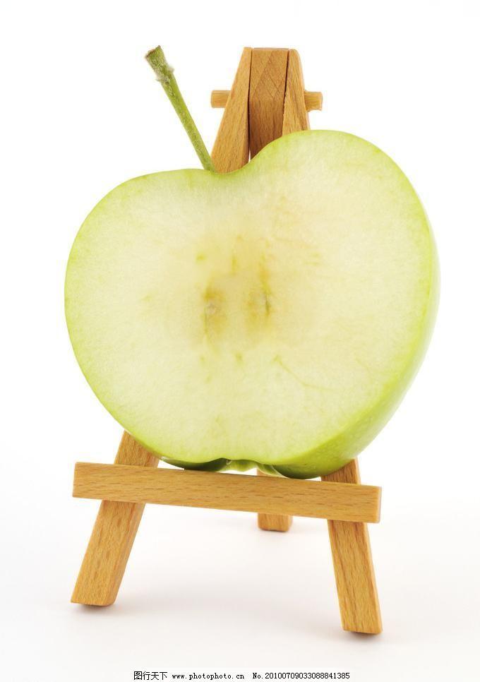 创意水果 高清图片 立体 苹果 生物世界 创意水果设计素材 创意水果图片