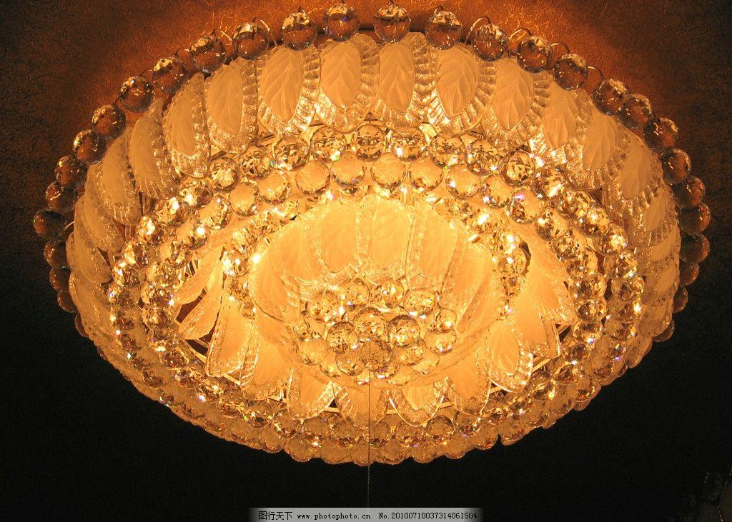 灯饰 水晶灯 照明 工业生产 现代科技 摄影