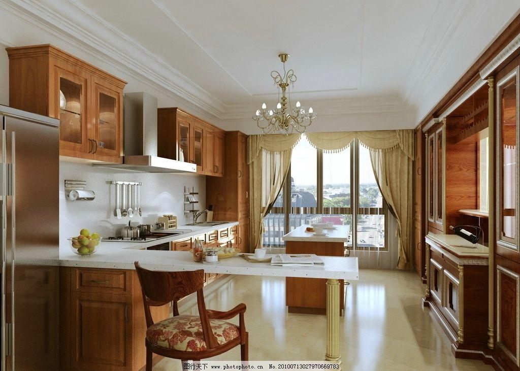 厨房餐厅图片_室内设计_环境设计_图行天下图库