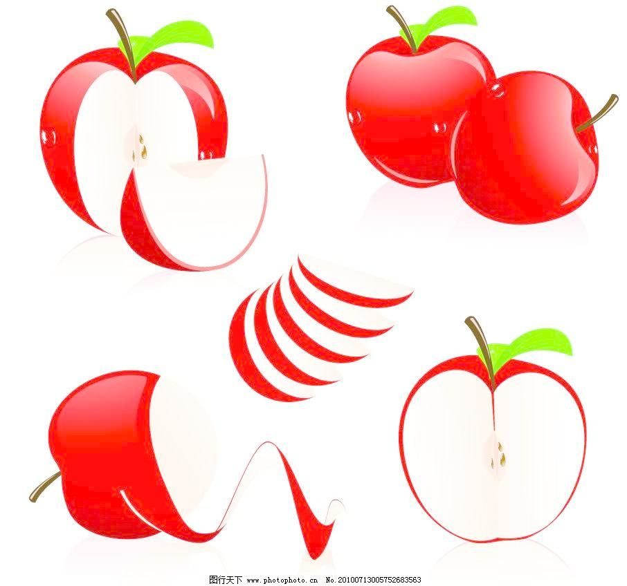 红苹果素描步骤