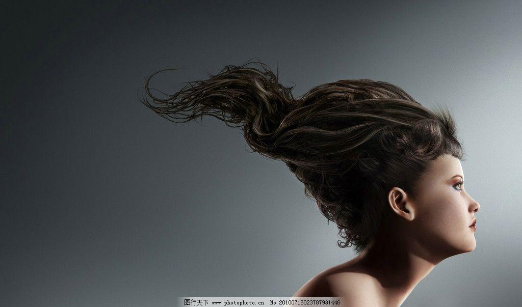 发型设计 头发 染发 烫发 理发店 造型 模特 女人 最爱 短发