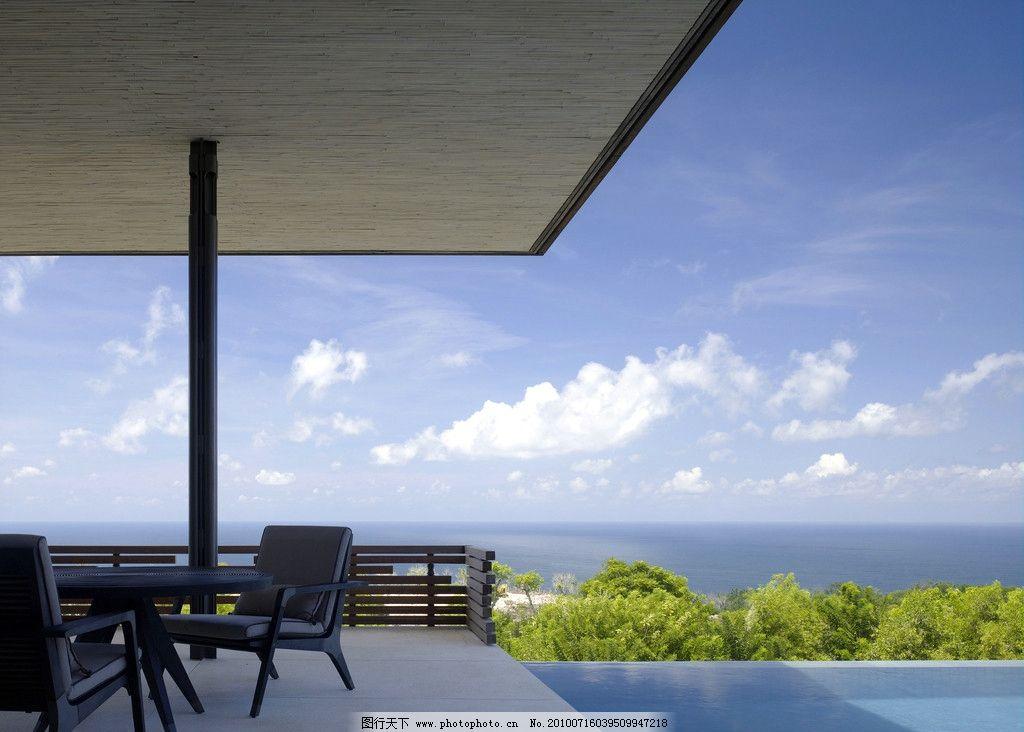 海边别墅风景图片