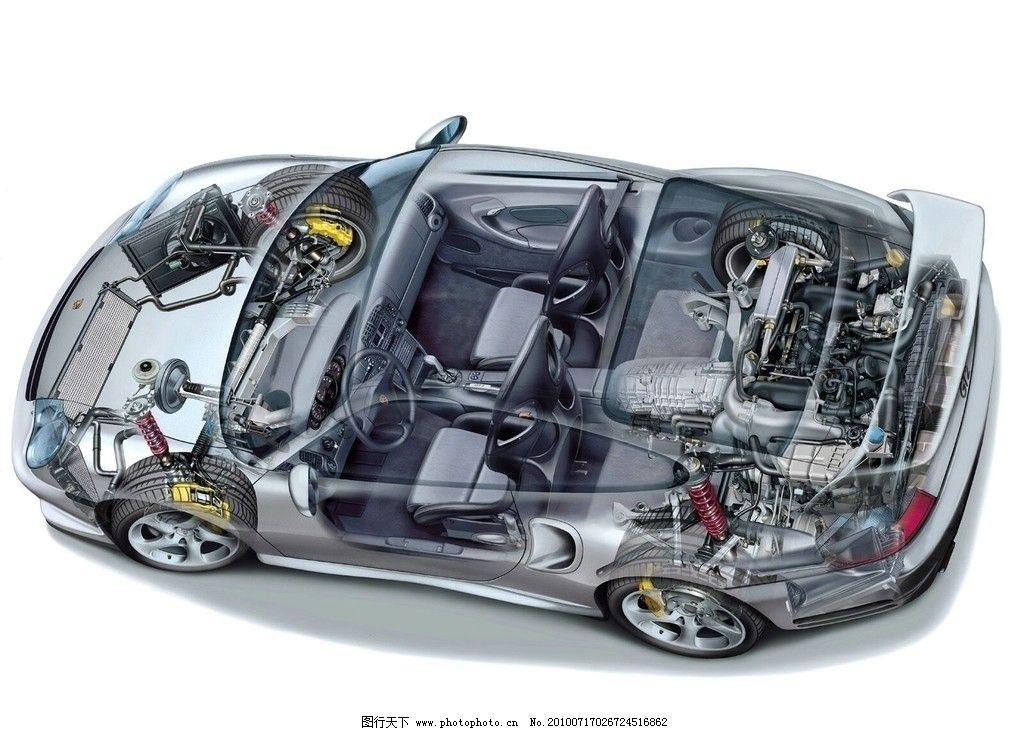 汽车 透视图 小汽车 轿车