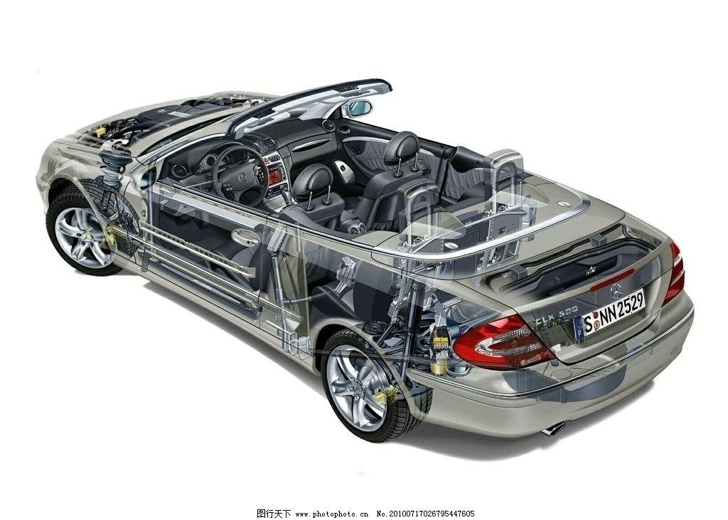 汽车透视图片