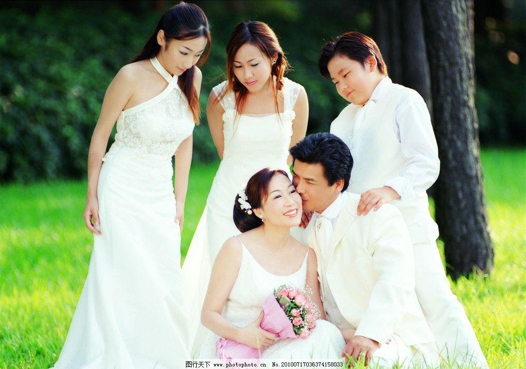 全家福 样片 影楼样片 婚纱照 影楼样照 人物摄影