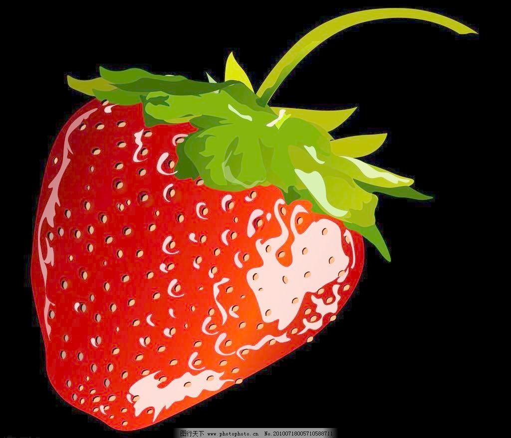 草莓矢量图图片