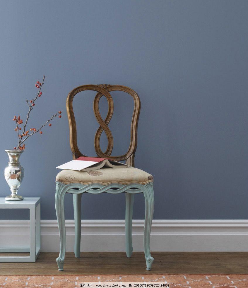 欧式椅子图片_室内摄影