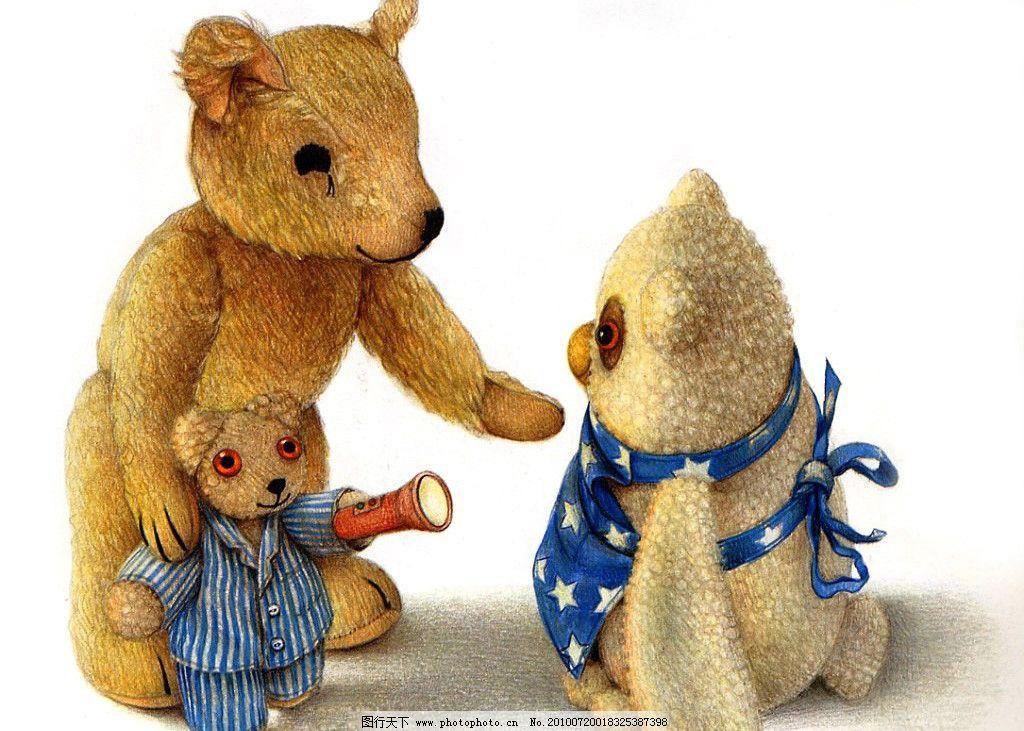 故事插图 故事绘本 布偶玩具屋 动漫 木偶 容貌 可爱 动漫人物 动漫