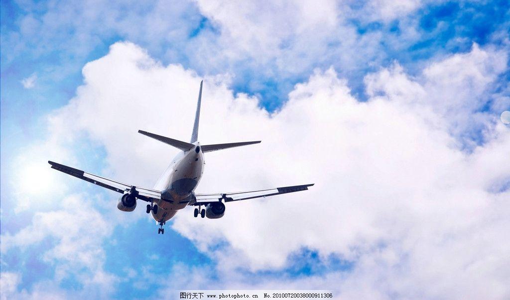 飞机 民航飞机 民航 客机 民航写真 高空 蓝天 白云 飞翔 飞行 波音
