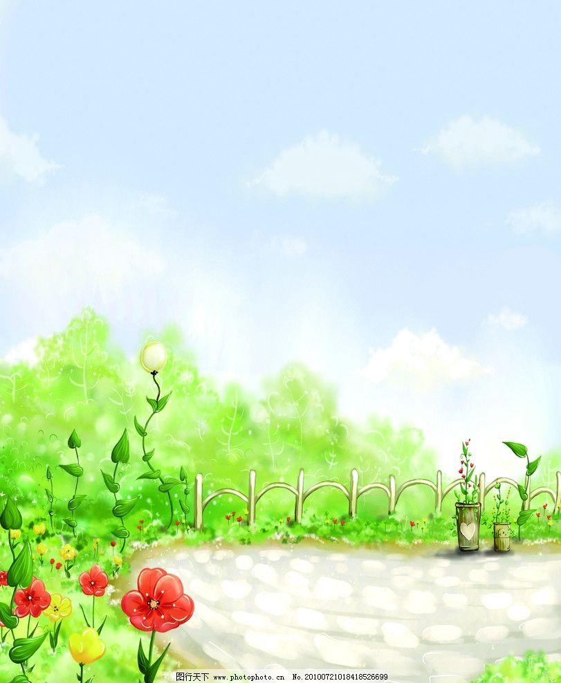 梦幻花园图片
