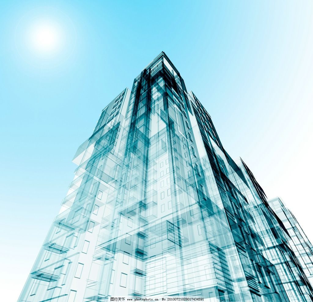 透视感建筑图片