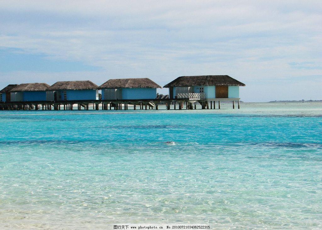 马尔代夫海边 海边 马尔代夫