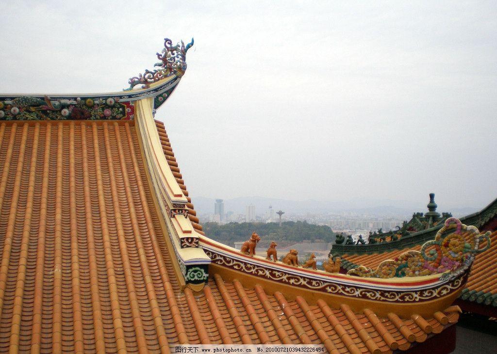古寺 建筑 风景 旅游摄影 古建筑 瓷雕 建筑摄影 建筑园林