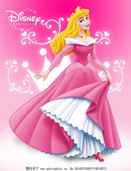 卡通迪士尼 迪士尼人物 气质美女 性感 王冠 卡通女孩 模板 背景 海报