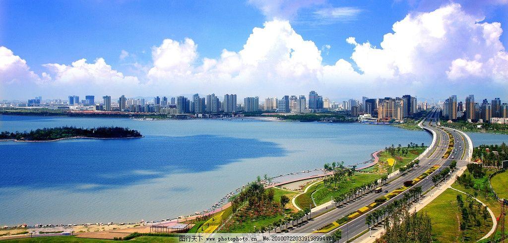 苏州 园区 金鸡湖大桥图片