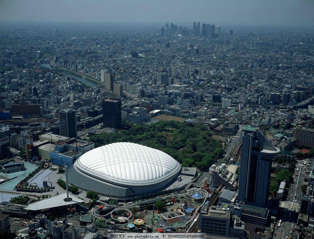 城市景观 房子 俯视 天空 建筑景观 摄影