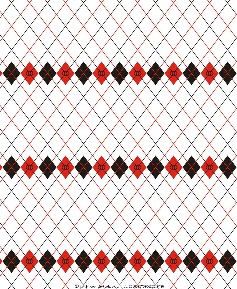 菱形花边 菱形 花边 双g 先框 边框相框 底纹边框 矢量 cdr