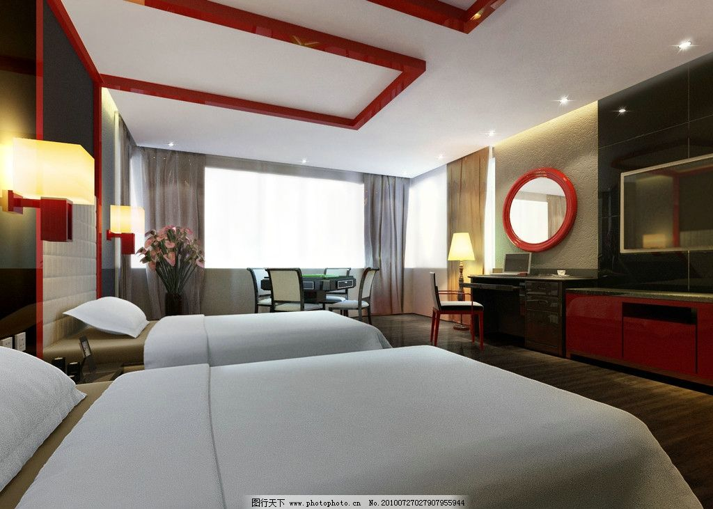 宾馆客房设计图片