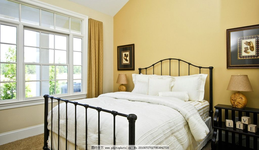 室内设计  室内高清图片 室内 窗户 卧室 装修 装饰 装璜 床 设计