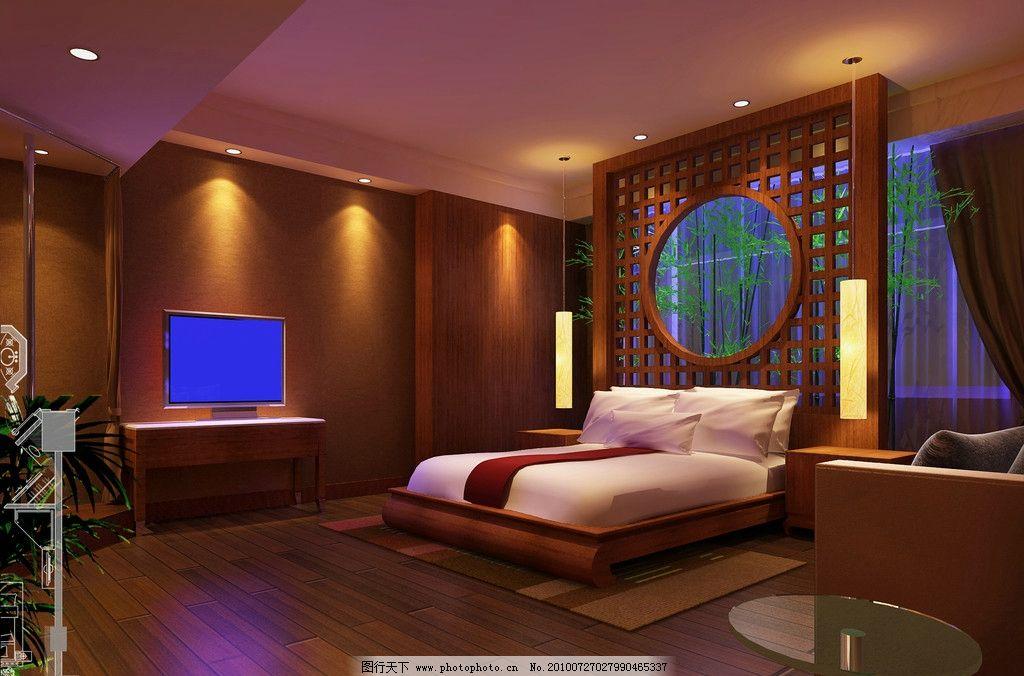 酒店按摩房效果图图片
