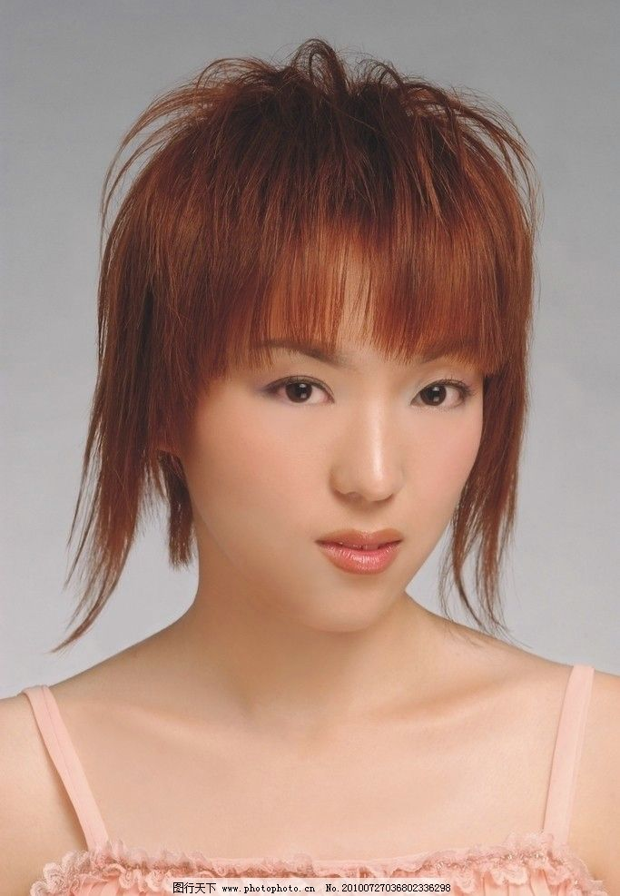 发型 美发 美容 化妆 时尚 女性女人 人物图库 摄影 300dpi jpg