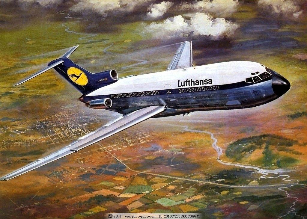 手绘飞机 手绘 飞机 设计