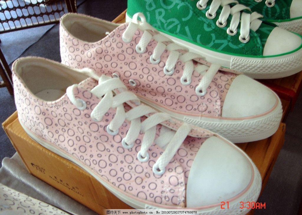帆布鞋 夏日 可爱 生活素材