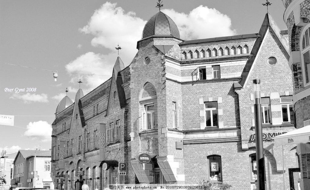 欧式建筑图片免费下载