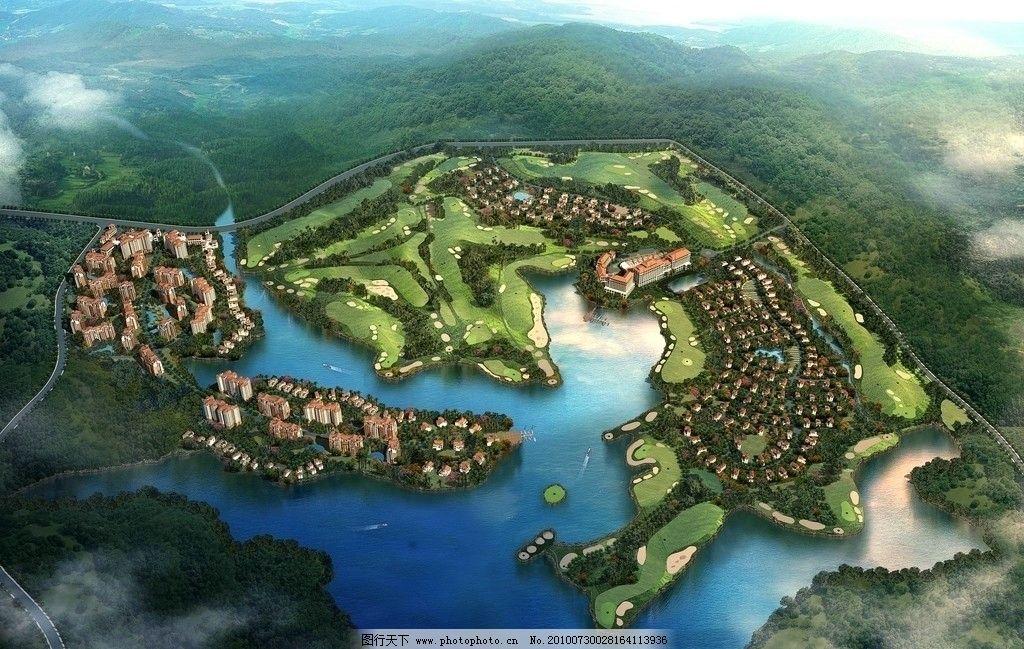 园林景观设计图片_景观设计_环境设计_图行天下图库