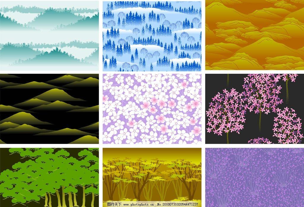 日式 图案 和风 日式风格 背景素材 条纹线条 底纹边框 矢量 cdr