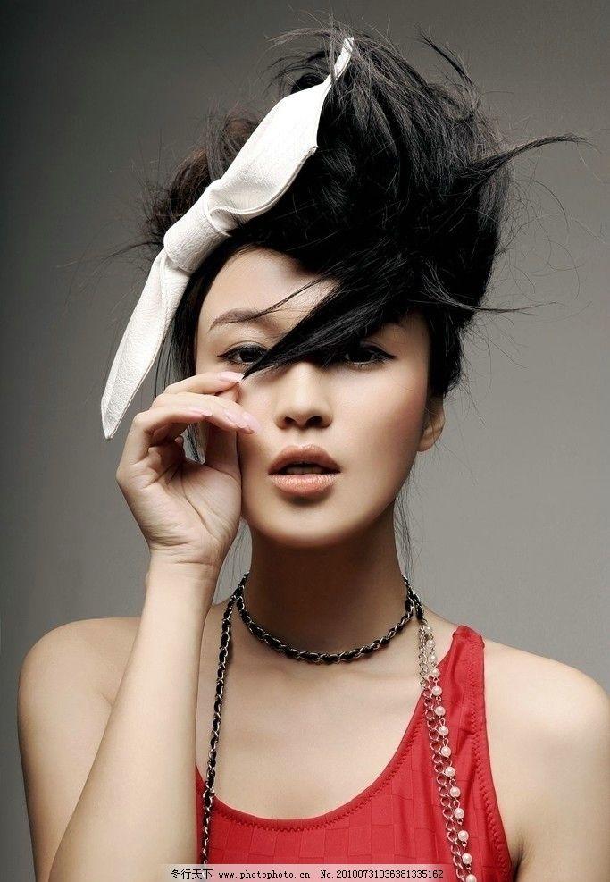 赤雪 写真 北京现代音乐学院 美女歌手 明星偶像 人物图库 摄影 72dpi