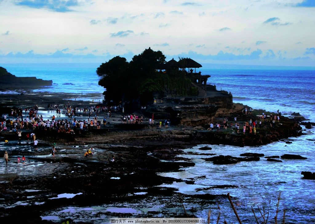 巴厘岛风光 巴厘岛晚霞