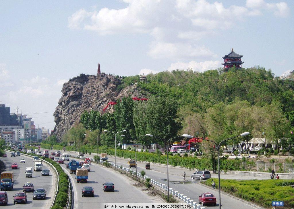 乌鲁木齐红山公园图片