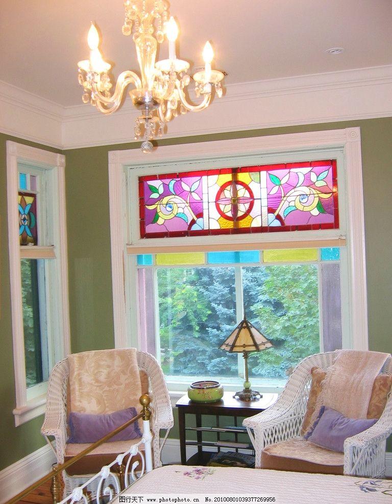 室内设计效果图 欧式 窗户 窗帘 吊顶 天花 灯具 室内效果图