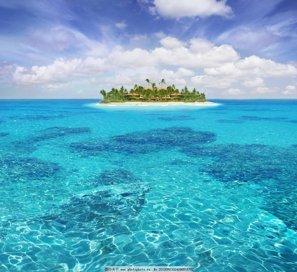 海景风光 海景 海上风光 漂亮的小岛图 小岛 风光 大海 风景 海水