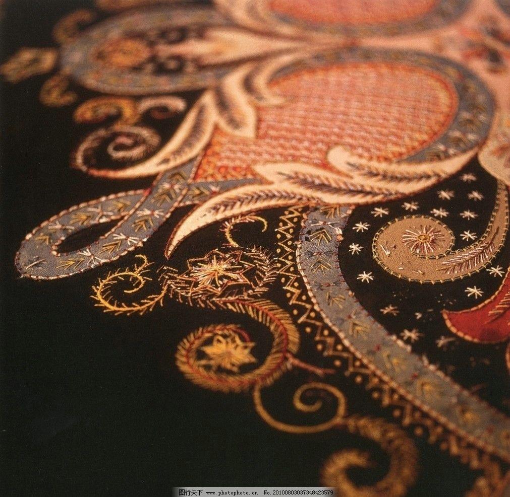 刺绣花纹 刺绣 花纹 欧式 地产 房地产 尊贵 豪华 家居生活 生活百科