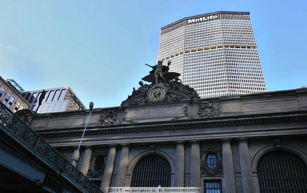 纽约/纽约 曼哈顿第五大道中央车站大楼图片