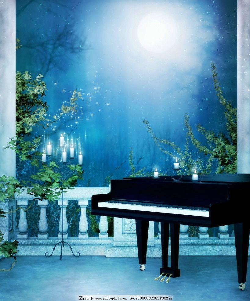 钢琴唯美意境图片壁纸下载6 55壁纸大全