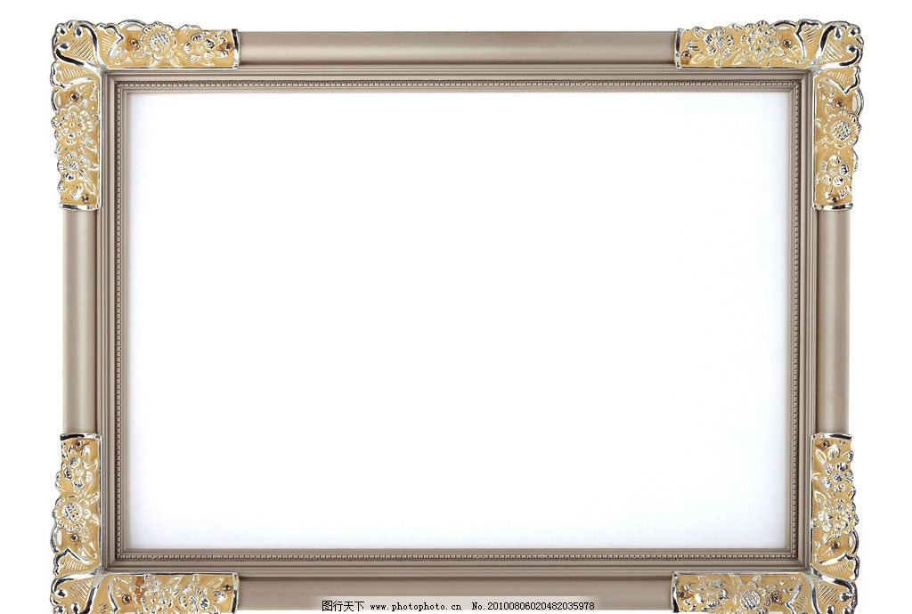 相框 边框 像框 图框 欧式相框 金属相框 古典相框 典雅精致相框
